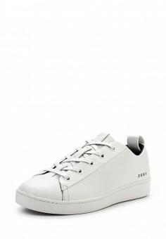 Кеды, DKNY, цвет: белый. Артикул: DK001AWPVI00. Женская обувь / Кроссовки и кеды