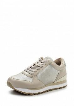 Кроссовки, DKNY, цвет: серебряный. Артикул: DK001AWPVI10. Премиум / Обувь