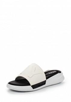 Шлепанцы, DKNY, цвет: белый. Артикул: DK001AWROY35. Премиум / Обувь