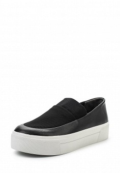 Слипоны, DKNY, цвет: черный. Артикул: DK001AWROY40. Премиум / Обувь