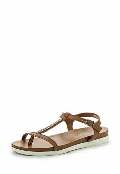 Сандалии, Dorothy Perkins, цвет: коричневый. Артикул: DO005AWSCL54. Женская обувь / Сандалии