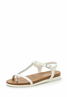 Сандалии, Dorothy Perkins, цвет: белый. Артикул: DO005AWTFT66. Женская обувь / Сандалии