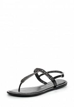 Сандалии, Dorothy Perkins, цвет: черный. Артикул: DO005AWTOC58. Женская обувь / Сандалии