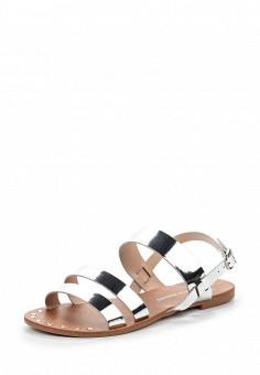 Сандалии, Dorothy Perkins, цвет: серебряный. Артикул: DO005AWTOC61. Женская обувь / Сандалии