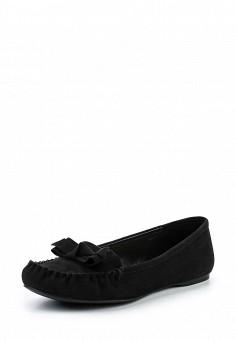 Мокасины, Dorothy Perkins, цвет: черный. Артикул: DO005AWUBQ90. Женская обувь / Мокасины и топсайдеры