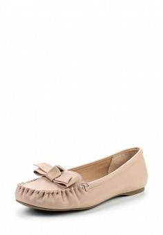 Мокасины, Dorothy Perkins, цвет: розовый. Артикул: DO005AWUBQ91. Женская обувь / Мокасины и топсайдеры