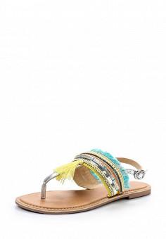 Сандалии, Dorothy Perkins, цвет: мультиколор. Артикул: DO005AWUZR37. Женская обувь / Сандалии