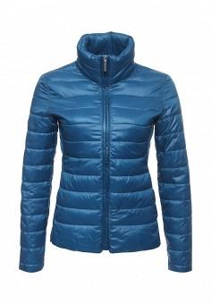 Куртка утепленная, Dorothy Perkins, цвет: синий. Артикул: DO005EWPCI86. Женская одежда / Верхняя одежда / Демисезонные куртки