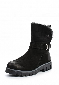 Полусапоги, Dockers by Gerli, цвет: черный. Артикул: DO927AWMXH28. Женская обувь / Сапоги