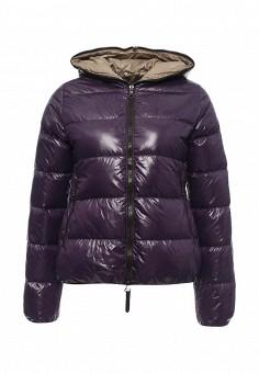 Пуховик, Duvetica, цвет: фиолетовый. Артикул: DU004EWMBE32. Женщинам / Одежда / Верхняя одежда