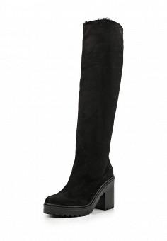 Ботфорты, Ekonika, цвет: черный. Артикул: EK002AWMZN49. Женская обувь / Сапоги
