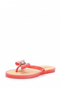 Сланцы, Ella, цвет: розовый. Артикул: EL023AWEBB30. Женская обувь / Шлепанцы и акваобувь
