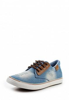 Кеды, Elong, цвет: голубой. Артикул: EL025AMETX23. Мужская обувь / Кроссовки и кеды