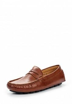 Мокасины, Elong, цвет: коричневый. Артикул: EL025AMTJL06. Мужская обувь / Мокасины и топсайдеры