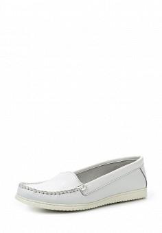 Мокасины, El Tempo, цвет: белый. Артикул: EL072AWQHE82. Женская обувь / Мокасины и топсайдеры