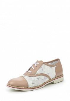 Ботинки, Simen, цвет: бежевый. Артикул: ER946AWRJD37. Женская обувь / Ботинки