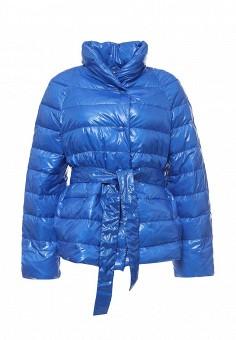 Пуховик, Escada Sport, цвет: синий. Артикул: ES006EWNKK01. Премиум / Одежда / Верхняя одежда / Пуховики и зимние куртки