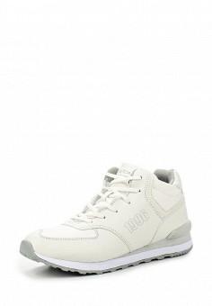 Кроссовки, Escan, цвет: белый. Артикул: ES021AWMBH73. Женская обувь / Кроссовки и кеды / Кроссовки