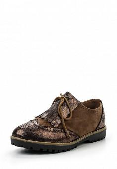 Ботинки, Exquily, цвет: коричневый. Артикул: EX003AWRNE26. Женская обувь / Ботинки / Низкие ботинки