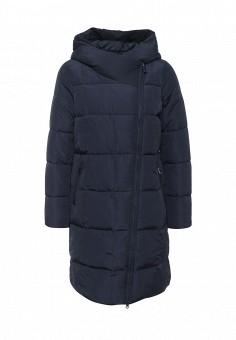 Куртка утепленная, FiNN FLARE, цвет: синий. Артикул: FI001EWKHE27. Женская одежда / Верхняя одежда / Пуховики и зимние куртки