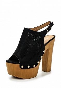 Босоножки, Fiori&Spine, цвет: черный. Артикул: FI021AWSZD65. Женская обувь / Босоножки