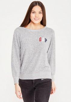 Джемпер, Gap, цвет: серый. Артикул: GA020EWSWS82.