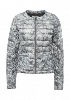 Куртка утепленная, Gas, цвет: серый. Артикул: GA340EWRLO43. Женская одежда / Верхняя одежда / Демисезонные куртки