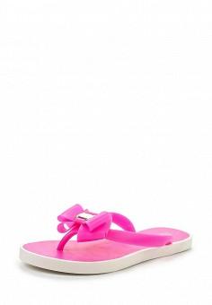 Сланцы, GLAMforever, цвет: розовый. Артикул: GL854AWHWR49. Женская обувь / Шлепанцы и акваобувь