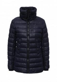 Куртка утепленная, G-Star, цвет: синий. Артикул: GS001EWJBY00. Женская одежда / Верхняя одежда / Пуховики и зимние куртки