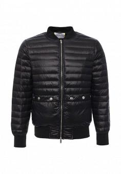 Пуховик, Iceberg, цвет: черный. Артикул: IC461EMJHA32. Мужская одежда / Верхняя одежда / Пуховики и зимние куртки