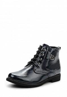 Ботинки, Instreet, цвет: синий. Артикул: IN011AWPRC51. Женская обувь / Ботинки