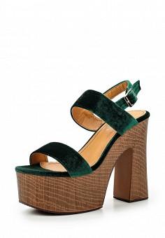 Босоножки, Janessa, цвет: зеленый. Артикул: JA026AWSZE46. Janessa