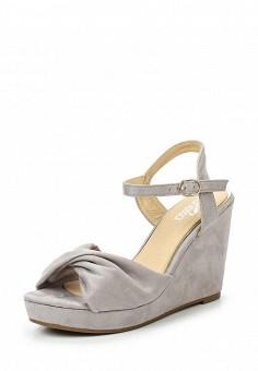 Босоножки, Janessa, цвет: серый. Артикул: JA026AWTUA88. Janessa