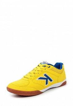 Бутсы зальные, Kelme, цвет: желтый. Артикул: KE010AUHVP54. Женская обувь / Кроссовки и кеды / Кроссовки