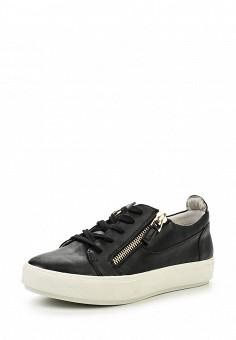 Кеды, Keddo, цвет: черный. Артикул: KE037AWHTO87. Женская обувь / Кроссовки и кеды