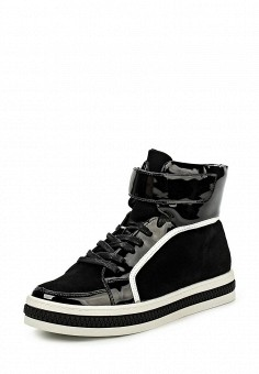 Кеды, Keddo, цвет: черный. Артикул: KE037AWKDY92. Женская обувь / Кроссовки и кеды