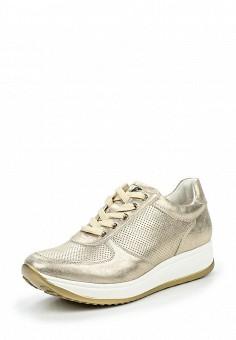 Кроссовки, Keddo, цвет: золотой. Артикул: KE037AWQCD57. Женская обувь / Кроссовки и кеды