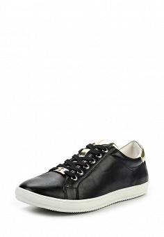 Кеды, Keddo, цвет: черный. Артикул: KE037AWQCF09. Женская обувь / Кроссовки и кеды