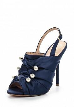 Босоножки, KG Kurt Geiger, цвет: синий. Артикул: KG001AWOXF44. Женская обувь / Босоножки