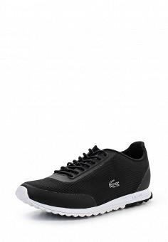 Кроссовки, Lacoste, цвет: черный. Артикул: LA038AWPZN82. Женская обувь / Кроссовки и кеды