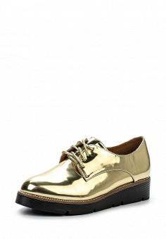Ботинки, Laik, цвет: золотой. Артикул: LA077AWPQO33. Женская обувь / Ботинки / Низкие ботинки