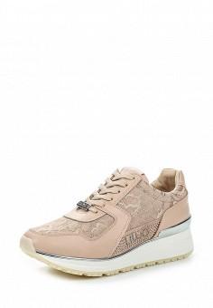 Кроссовки, Liu Jo, цвет: розовый. Артикул: LI687AWOQE42. Премиум / Обувь