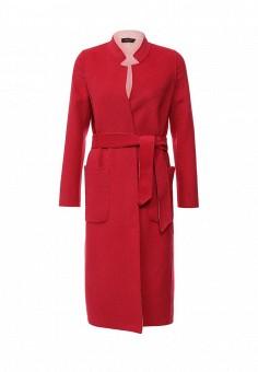 Пальто, Liu Jo, цвет: розовый. Артикул: LI687EWOTC47. Премиум / Одежда / Верхняя одежда / Пальто