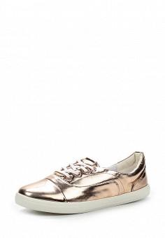 Кеды LOST INK, цвет: бронзовый. Артикул: LO019AWGFV87. Женская обувь / Кроссовки и кеды / Низкие кеды
