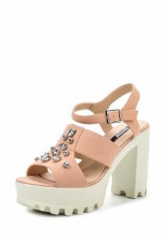 Босоножки, LOST INK, цвет: розовый. Артикул: LO019AWGVM59. Женская обувь / Босоножки