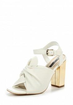 Босоножки, LOST INK, цвет: белый. Артикул: LO019AWPTE32. Женская обувь / Босоножки
