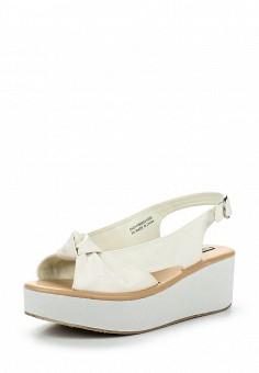 Босоножки, LOST INK, цвет: белый. Артикул: LO019AWRIS32. Женская обувь / Босоножки