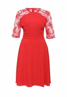 Платье, LOST INK, цвет: красный. Артикул: LO019EWNIS36. Женская одежда