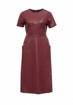 Платье, LOST INK, цвет: бордовый. Артикул: LO019EWNMH27. Женская одежда