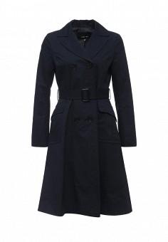 Плащ, Lost Ink, цвет: синий. Артикул: LO019EWPUV50. Женская одежда / Верхняя одежда / Плащи и тренчкоты